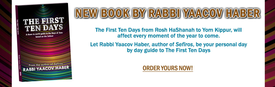 The First Ten Days by Rabbi Yaacov Haber